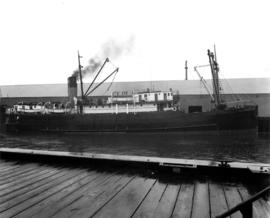 "[S.S. ""Cassiar"" (II) at dock]"