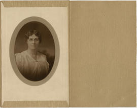 [Head and shoulders portrait of a woman]