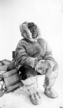 [Eskimo wearing fur clothing]