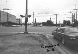 Cambie [Street] and 41st [Avenue looking] south