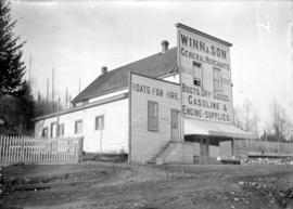 [Winn and Son general store, Gibson's Landing]