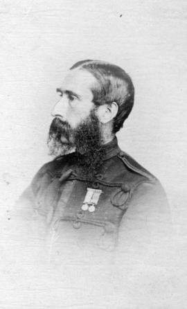 [Head and shoulders portrait of] Captain Williams R.M.A.