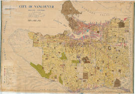 City of Vancouver, British Columbia : 1954 land use