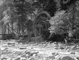[Water wheel at Silver Creek]
