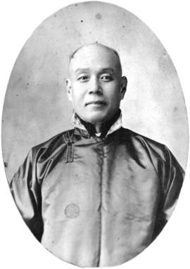 [Studio portrait (possibly) of Chang Toy]
