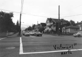 Victoria [Drive] and 1st [Avenue looking] north