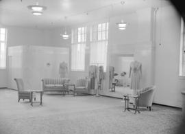 [Interior view of David Spencer's Better Gown Salon]