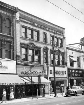 [Exterior of the McMillan Building - 411 West Hastings Street]