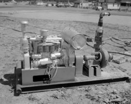 [Pump used for filling water bombers]