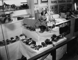 Display of model entries in P.N.E. Hobby Show