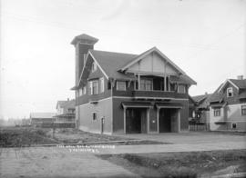 Fire hall at 24th and Burns [Prince Albert Street], Vancouver, B.C.