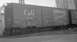 Columbus and Greenville Rly. [Boxcar #3445]