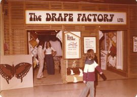 The Drape Factory Ltd. display booth