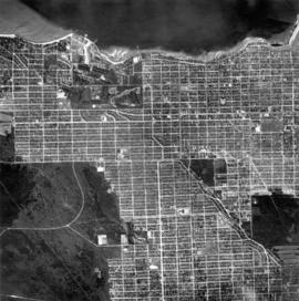 [Aerial view of West Point Grey, Kitsilano, Dunbar - Southlands and University Endowment Lands]
