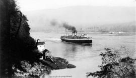 S.S. Princess Charlotte entering Harbor, Vancouver-B.C.