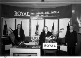 Royal display of vacuum cleaners