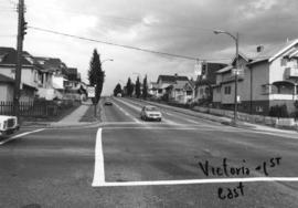 Victoria [Drive] and 1st [Avenue looking] east
