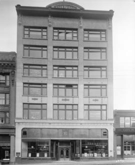 [Arts and Crafts building at 576 Seymour Street]