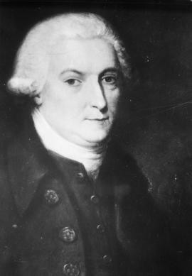 Portrait of George Vancouver