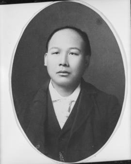 Portrait of [Ho Jeen Chong], father of Lillian Wong