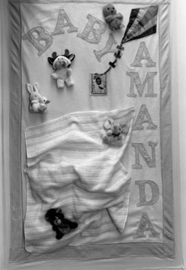 Names project AIDS quilts [baby Amanda]