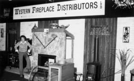 Western Fireplace Distributors display