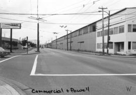 Commercial [Drive]and Powell [Street looking] west