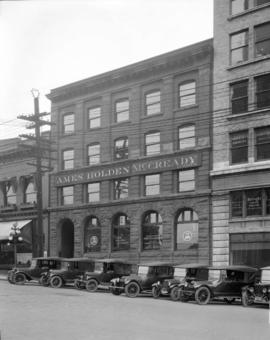 Ames, Holden, McCready Limited [at 125 West Pender Street]