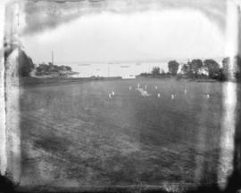 [Cricket match in Stanley Park]