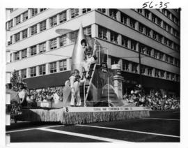 General Paint Corporation of Canada float in 1956 P.N.E. Opening Day Parade