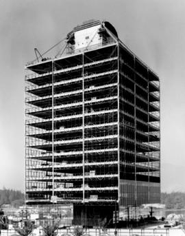 [Westcoast Building under construction - 1333 West Georgia Street]