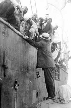 Komagata Maru incident in Vancouver Harbour