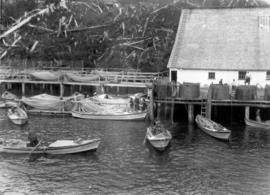 [Unidentified fishing dock]