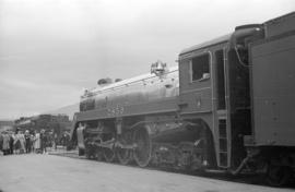 [Engine 2850 which pulled the royal train]