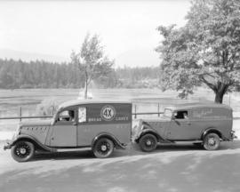 [Canadian Bakery and Packard Motor] trucks