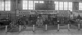 Wood Vallance and Legget Stand at Exhibition
