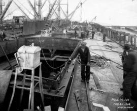 Hull No. 101 [under construction at West Coast Shipbuilders Limited]