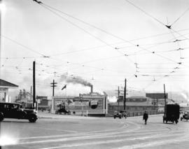 Taken for Duker and Shaw Billboards Ltd. [Granville and Pacific looking south to bridge]