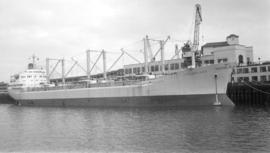 "M.S. Polarland [at dock, at Pier ""B""]"