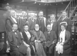 [Faculty and others in the Department of Natural History at Marischal College]