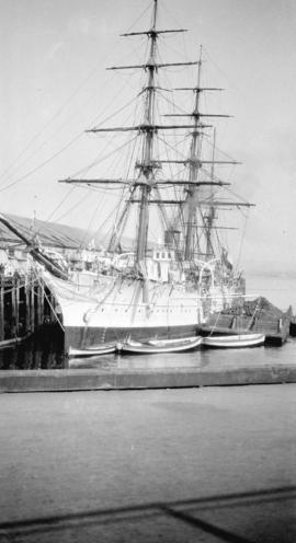 "[S.S. ""General Baquedano"" at dock]"