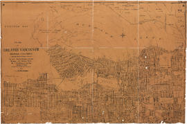 Plan of Greater Vancouver, British Columbia