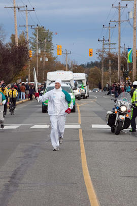 Day 001, torchbearer no. 057, Chris Gailus - Central Saanich