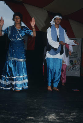 Folk Dance Group of India performance during the Centennial Commission's Canada Day celebrations