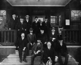 Directors and officials, California and Hawaiian Sugar Refining Company (includes R.P. Rithet)