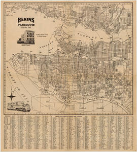 Map of Vancouver, British Columbia : side 2