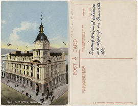 Post Office, Vancouver, B.C.