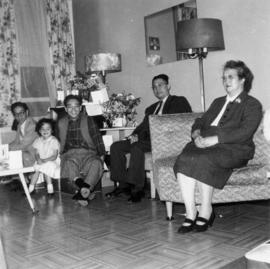 Lillian Ho Wong visiting the family home of groom Dan Wong in Vancouver