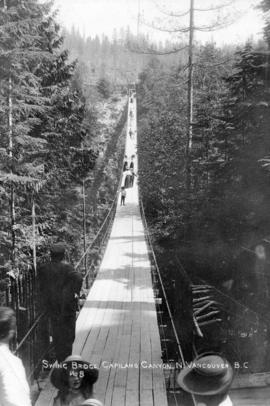 Swing Bridge Capilano Canyon, N. Vancouver, B.C.