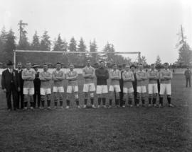 Vancouver Soccer Team, N. Seats - 1921